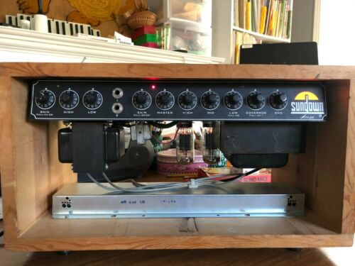 Sundown Artist 100 tube amp