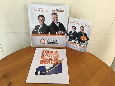 The Flipping FormulaBy Peter Souhleris & Dave Seymour - 2 MANUALS, CD & BOOK!