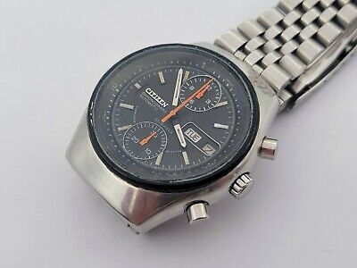 CITIZEN 67-9119 Vintage Chronograph Fly-Back Automatic - Cal 8110A - WORKING OK