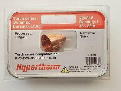 Genuine Hypertherm 220818 Drag Shield Powermax 45xp 65 85 Hrt Hrts Plasma 85a