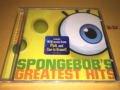 SPONGEBOB Squarepants 17 GREATEST HITS CD theme BUBBLE SONG x-mas  (Spongebob Themes)