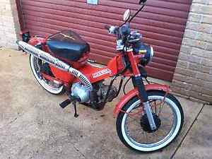 2000 Honda CT110 Postie Bike Rutherford Maitland Area Preview