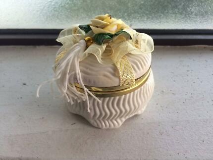 Ceramic Trinket Box Carindale Brisbane South East Preview