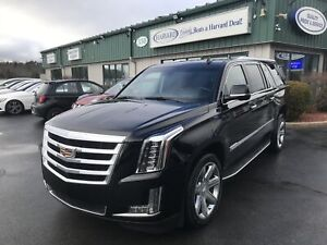2018 Cadillac Escalade ESV Luxury CLEAN CARFAX/HEADS UP/NAV/L...