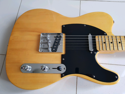 """""""Iconic Fender Telecaster 52' Butterscoth Blonde Maple Neck"""""""