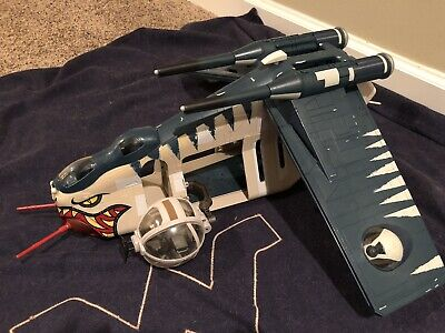 EXCLUSIVE Star Wars Razor Squad Republic Gunship LAAT/i W/ Clones, Turret