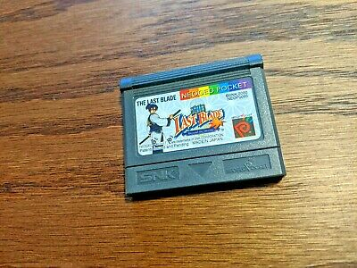 The Last Blade (Neogeo Pocket, 1997) Classic Fun Game Cartridge English Version!