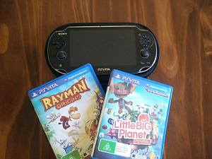 PS Vita + Games - Excellent condition Brisbane City Brisbane North West Preview