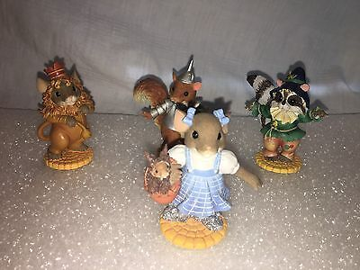 "CHARMING TAILS ""Wizard Of Oz COLLECTION"" 4 Mice"