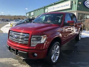 2013 Ford F-150 Limited RED LEATHER/BACKUP CAMERA/MOONROOF/AD...