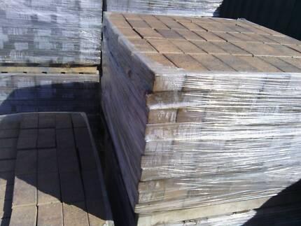 Lot#084 clay pavers 230x113x65mm