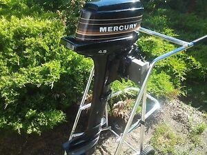 4.5 hp longshaft Mercury motor