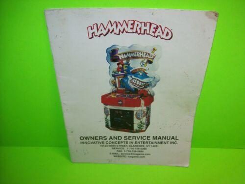 ICE HammerHead Original Arcade Game Owners Service Repair Manual Redemption