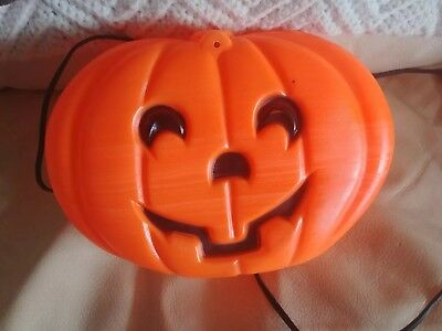 VTG.HALLOWEEN BLOW  JOL~LIGHT UP~FLAT BACK NICE FOR WINDOW~FIREPLACE~COUNTER ](Halloween Decorations For Windows)