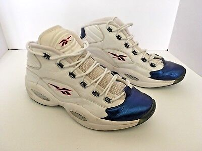 53330588a5b RARE Authentic Vintage Reebok Question Allen Iverson Basketball Shoes OG