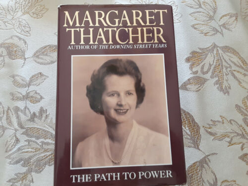 Margarett Thatcher  Autographed Hard cover book  or her bookplate JSA Certified