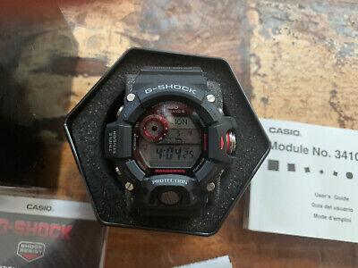 Authentic Casio G-Shock GW9400-1 Rangeman, Triple Sensor Atomic Watch