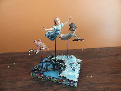 Jim Shore Enesco Disney Peter Pan Darling Family Straight On TiI Morning Flying