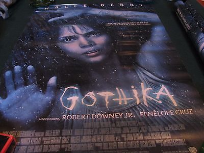 """2003 GOTHIKA ORIGINAL DOUBLE-SIDED MOVIE POSTER 27"""" X 40"""" WARNER HALLE BERRY"""