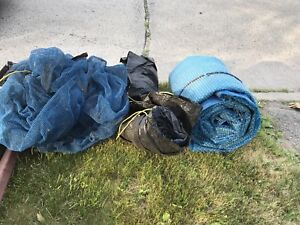 Free used pool covers (18' round above ground)