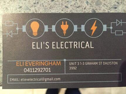 ELECTRICIAN. PROMPT FRIENDLY AND AFFORDABLE Dalyston Bass Coast Preview