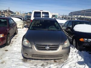 Parting out a 2003 Nissan Altima sedan