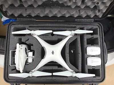 DJI Phantom 4 Pro Drone With Carrying Case And Two Batteries