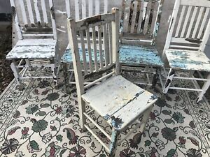 Decor chairs. Very old !! 4 available.