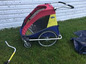 Chariot CTS double stroller