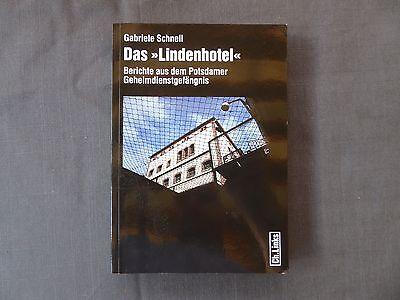 """Buch, Das """"Lindenhotel"""", Berichte aus dem Potsdamer Geheimdienstgefängnis, 2009"""