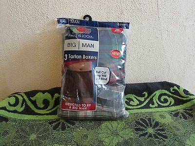 NEW~BIG MEN'S FRUIT OF THE LOOM 2,3 or 4 BOXERS OR BOXER BRI