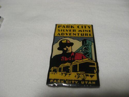 Park City Utah SILVER MINE ADVENTURE Metal Souvenir Fridge Magnet