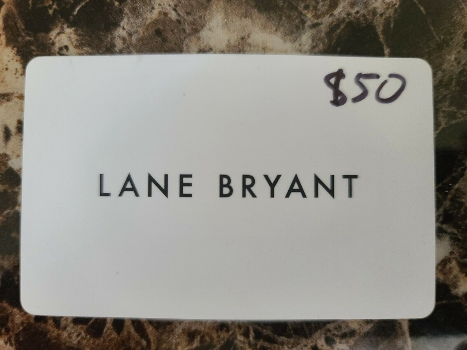 Lane Bryant 50 Gift Card Unused Purchased From Amazon - $31.07