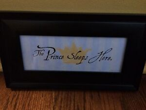 Childs room picture frame