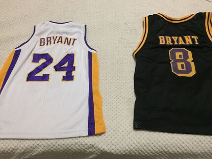 NBA Basketball BRYANT Jerseys For Sale Lakers Los Angeles Size XL 12