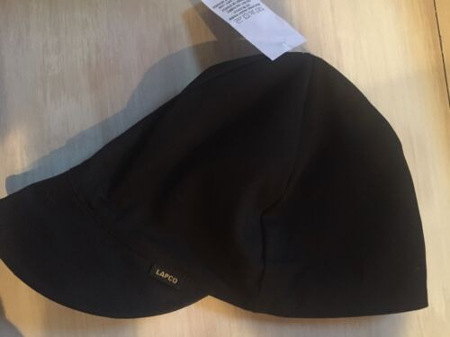Welding Caps Black SIZE 7 1/8 NWT LAPCO 6 CAPS