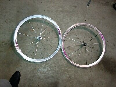 USED Campagnolo Shamal 275mm Front Wheel Spoke Black Road Bike