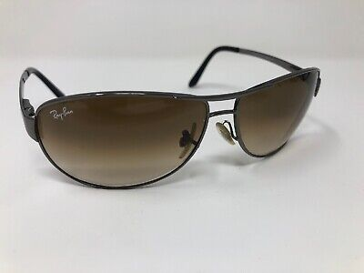 Ray-Ban WARRIOR Pilot Sunglasses RB3342 004/51 BROWN GRADIENT GLASS 63mm (Rb3342 Warrior)