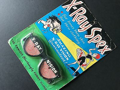 Used, Rare, Vintage 1965 X-RAY SPEX Amazing X-Ray Vision Novelty Glasses / Honey Toys for sale  Sea Cliff