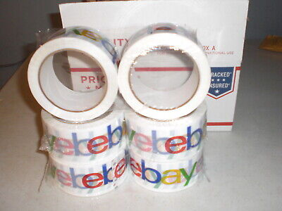 Ebay Branded Classic Packing Tape Lot 6 Rolls 75 Yard Packaging Fast Shipping