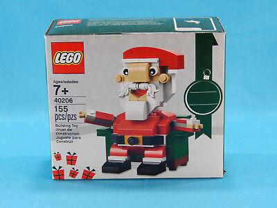 Lego 40206 Santa Claus 155pcs New Sealed 2016 Christmas Holiday