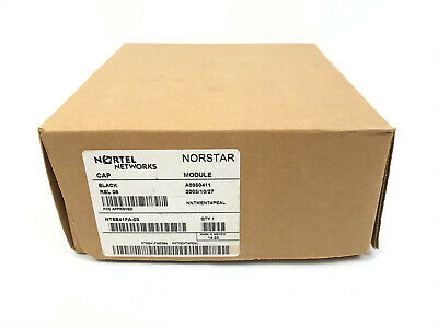 New Nortel Norstar Meridian Cap 48 Button Module Nt8b41fa-03 For M7324 Phones