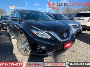 2015 Nissan Murano Platinum | NAV | ROOF | LEATHER | CAM | AWD