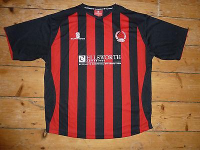 XL CLYDE FC Football Shirt 2008 Third Soccer Jersey Surridge soccer jersey image