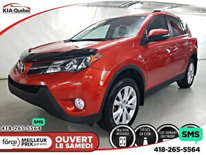 Toyota Rav4 limited* awd* gps* toit ouvrant* cuir* camera* 2015