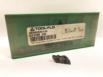 Tool-flo Flg-3125b New Carbide Inserts Grade At50 5pcs