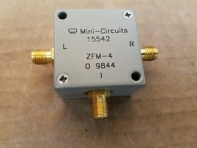 Mini-circuits Zfm-4 Frequency Mixer 5-1250mhz Smaf Lo If Rf Microwave 9844