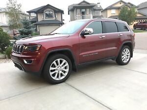 LIKE NEW 2017 Jeep Grand Cherokee Limited 4x4 EXTENDED WARRANTY