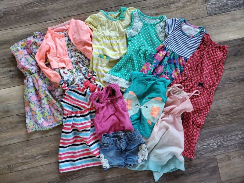 Lot Size 2T Toddler Girls Clothes Summer Dresses Outfits Gap Gymboree Carters