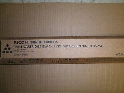 Genuine Ricoh 841280 Black Toner Aficio Mp C2050 C2550